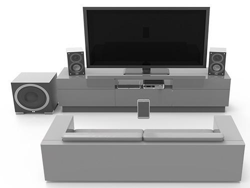Elac EA101EQ Verstärker für TV